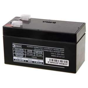 EMOS Bezúdržbový olověný akumulátor 12V 1,3Ah 1201000600
