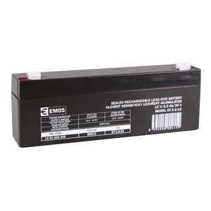 EMOS Bezúdržbový olověný akumulátor 12V 2,2Ah 1201002600