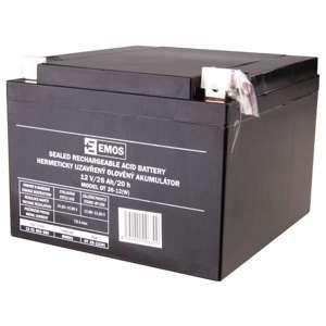 EMOS Bezúdržbový olověný akumulátor 12V 26Ah L2 1201003600