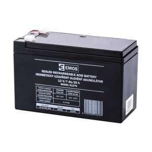 EMOS Bezúdržbový olověný akumulátor 12V 7Ah 1201004300