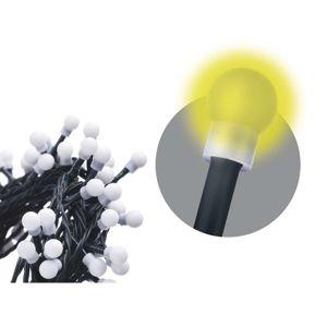 200 LED řetěz - kuličky, 20m, teplá bílá, časovač Teplá bílá
