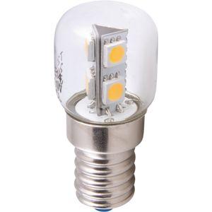 HEITRONIC LED T22 1,1W/829 E14 CS do lednice 16660 Teplá bílá Čirá