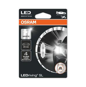 OSRAM LED C5W 6438DWP-01B 6000K 12V 1W SV8,5-8 31mm 4062172150637
