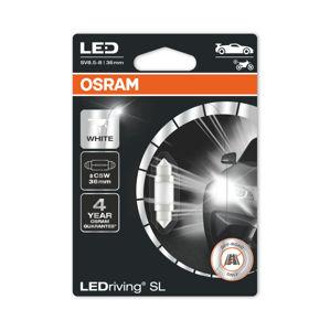 OSRAM LED C5W 6418DWP-01B 6000K 12V 1W SV8,5-8 36mm 4062172150651
