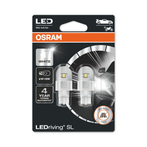 OSRAM LED W16W 921DWP-02B 6000K 12V 3W W2.1x9.5d PREMIUM 4062172150804