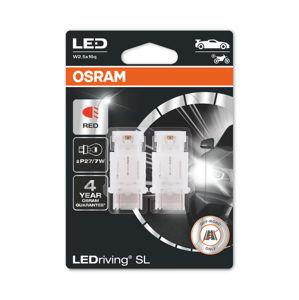 OSRAM LED P27/7W 3157DRP-02B RED 12V 1,8W W2.5x16q 4062172151689