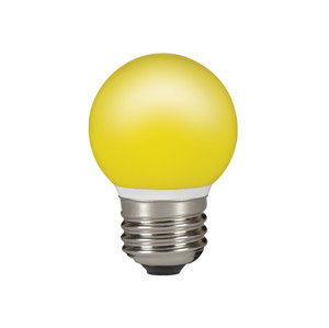 Sylvania ToLEDo Ball IP44 Yellow E27 0.5W
