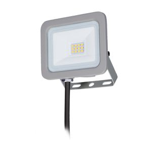 Solight LED reflektor Home, 10W, 750lm, 4000K, IP65, šedý WM-10W-M