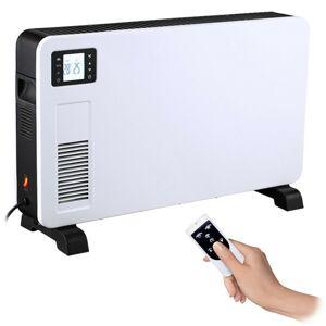 Solight horkovzdušný konvektor 2300W, LCD, ventilátor, časovač, nastavitelný termostat KP02