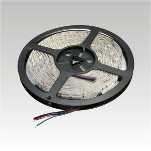 NBB LED pásek 12V 30LED/m SMD5050 RGB IP65 7.2W/m multichip Silicon 903003080