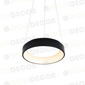 ACA Lighting Decoled LED závěsné svítidlo BR81LEDP45BK