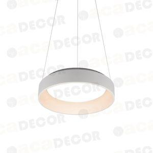 ACA Lighting Decoled LED závěsné svítidlo BR81LEDP45WH