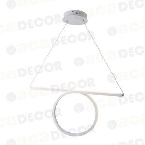 ACA Lighting Decoled LED závěsné svítidlo HM98LEDP64WH