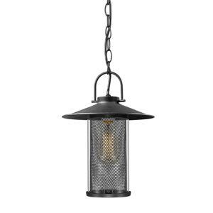 ACA Lighting Garden lantern venkovní závěsné svítidlo ROSSA1PBK