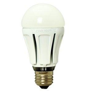Civilight LED žárovka FLORA A60 11W E27 3000K Teplá bílá