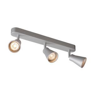 BIG WHITE AVO TRIPLE nástěnné a stropní svítidlo, tři žárovky, QPAR51, stříbrné šedé, max. 3x50W 1000894