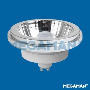 MEGAMAN LED reflector AR111 11W/75W GU10 2800K 5000cd/24° Dim 40Y