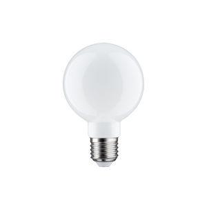 Paulmann LED Globe 80 6W E27 Opal 230V teplá bílá 283.37 28337