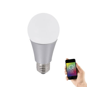 LEUCHTEN DIRECT Q-LED žárovka, Smart Home, CCT, žárovka 2700-5000K