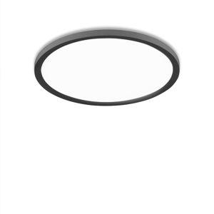 LEUCHTEN DIREKT LED stropní svítidlo kruhové v černé s nastavitelnou teplotou barvy a funkcí stmívání 2700-5000K