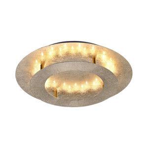 PAUL NEUHAUS LED stropní svítidlo, imitace plátkového zlata, kruhové 2700K PN 9620-12
