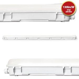TESLA - Tri-proof LED light 1500mm, 60W, 7800lm, 4000K, IP65, CRI80, 230V TP156040-6F