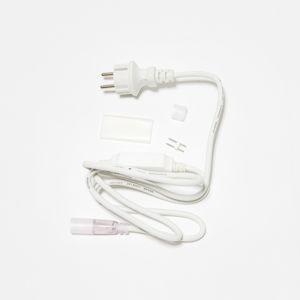 DecoLED Napájecí kabel pro D-TYP jednostranný LED Neon, IP67, 1,5 m, bílý DDNAC01