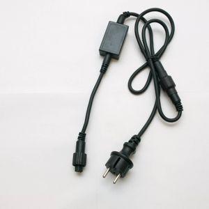 DecoLED Zdrojový kabel exteriér, oddělitelný AC/DC, IP67 EFACX12