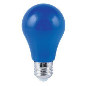 HEITRONIC LED žárovka A60 modrá E27 4W 17045