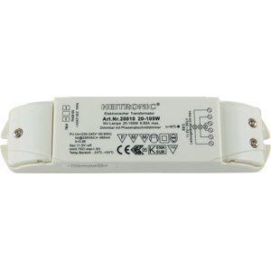 HEITRONIC elektronické trafo 12V AC 20-105W 20010