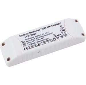 HEITRONIC elektronické trafo 12V AC 50-210W 20038