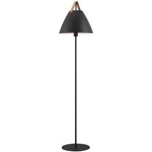 NORDLUX stojací lampa Strap černá