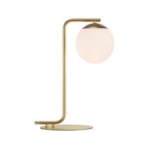 NORDLUX stolní lampa Grant 1x40W E14 mosaz opál
