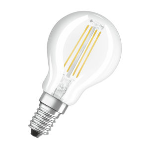 OSRAM LED VALUE CL P FIL 40 non-dim 4W/827 E14 Čirá 4058075288720