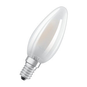 OSRAM LED STAR plus CL B CRI90 GL FR 40 non-dim 5W/927 E14 4058075813717