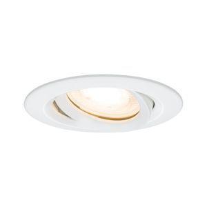 Paulmann vestavné svítidlo LED Nova IP65 kruhové 7W GU10 bílá 1ks sada nastavitelné 928.97 P 92897