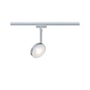 PAULMANN URail LED-spot Discus 5,5W matný chrom 230V stmívatelné 968.91 P 96891