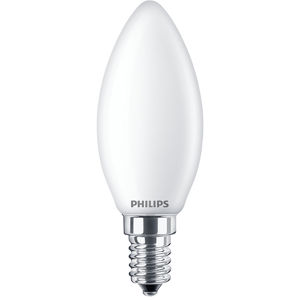 Philips Classic LEDcandle ND 6.5-60W B35 E14 827 FR